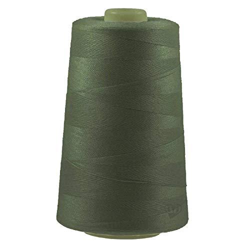 maDDma 4572m Overlockgarn Nähgarn Polyester Overlock Garn, wähle aus 400 Farben, Farbe:A857 armygrün