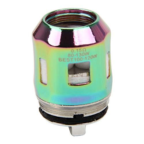 SMOK TFV8 Mini V2 Spulen A1 A2 Kerne Köpfe Packung von 3 (7-farbig (A3) (Farbige Zigaretten-packungen)