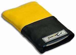 Norrun Handytasche / Handyhülle # Modell Gelsa # ersetzt die Handy-Tasche von Hersteller / Modell Sonim Xp3 Enduro # maßgeschneidert # mit einseitig eingenähtem Strahlenschutz gegen Elektro-Smog # Mikrofasereinlage # Made in Germany
