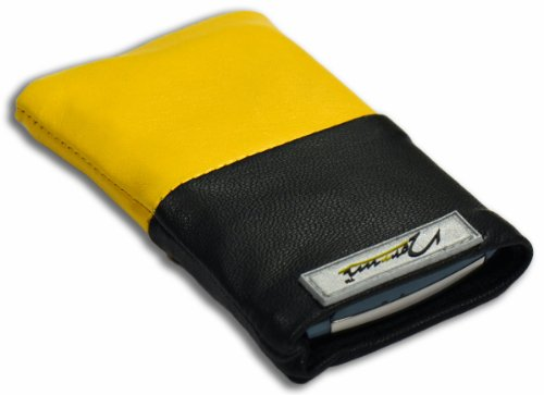 Norrun Handytasche / Handyhülle # Modell Gelsa # ersetzt die Handy-Tasche von Hersteller / Modell Samsung SGH-Z710 # maßgeschneidert # mit einseitig eingenähtem Strahlenschutz gegen Elektro-Smog # Mikrofasereinlage # Made in Germany