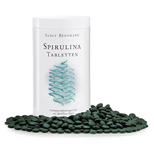Spirulina-Tabletten 400 mg Spirulina platensis
