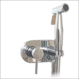 Aqua-Sigma KIT6244: Hot and Cold Monobloc Bidet Shower Kit
