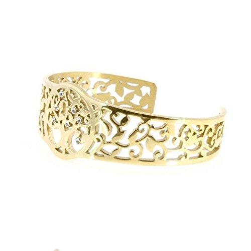 Imagen de viceroy jewels pulsera señora viceroy fashion acero chapado con motivo de arbol de la vida