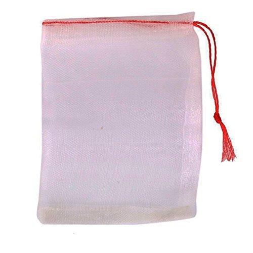 Jooks Wäsche Nylonmesh Zeug Waschmaschine Wäschesack Waschen Wäsche Korb Tasche Mesh Storage für Dessous Socken Strumpfhosen Strümpfe und Baby Kleidung 10*15cm 20pcs (Mesh-socke-tasche)