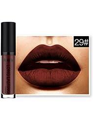 Lipstick,JACKY Waterproof Matte Liquid Lipstick Lip Gloss Lipstick (L)