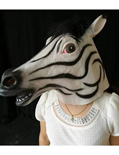 ZLJRR Maske Vollgesichts Halloween Maske Gruselkopf Latex Kostüm Theater Requisite Party Maske Weihnachten, - Drei Wünsche Weihnachten Kostüm