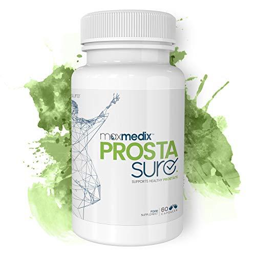 ProstaSure   Unterstützung der natürlichen Prostatafunktion   Beta-Sitosterol, Sägepalmen-Extrakt, Kürbiskernöl, Vitamin D3 und Selen   Natürliche Inhaltsstoffe   Für Männer   60 Kapseln
