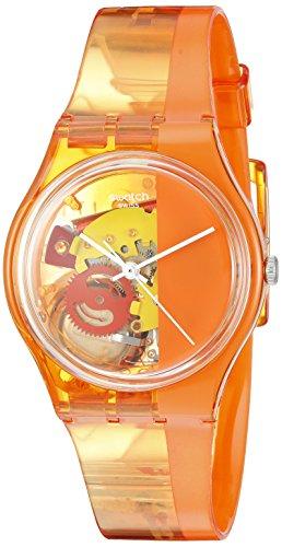 Swatch Orologio al Quarzo Unisex Bloody Orange 34 mm