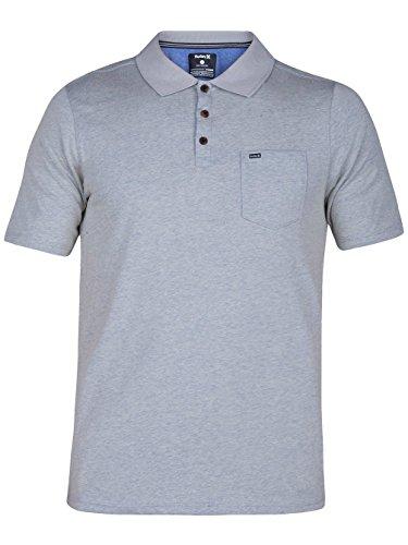 Herren T-Shirt Hurley Dri-Fit Lagos 3.0 Polo Oatmeal
