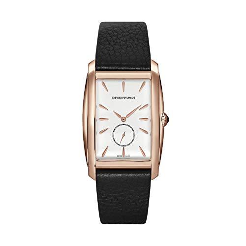 43e1e6e8d831 Emporio Armani Reloj Analógico para Hombre de Cuarzo con Correa en Cuero  ARS8351