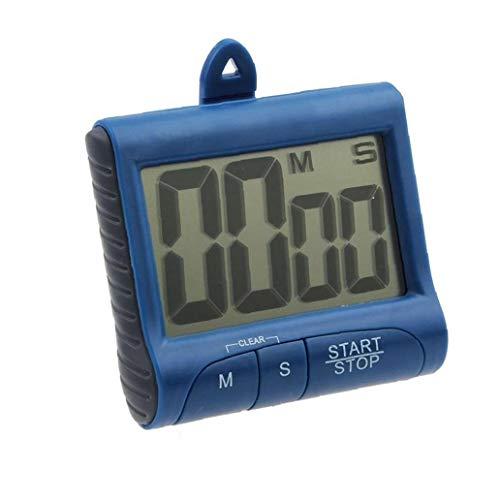 TJexePYK Contador De Tiempo Cronómetro Digital Dígitos