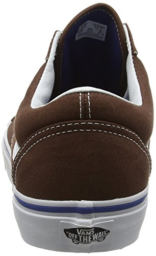 Vans Old Skool, Baskets Basses Mixte Adulte Marron (chestnut/true white)