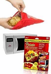 potato express kochen kartoffeln in der mikrowelle. Black Bedroom Furniture Sets. Home Design Ideas