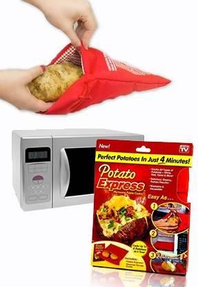 Potato Express – Bolsa para cocer patatas en el microondas