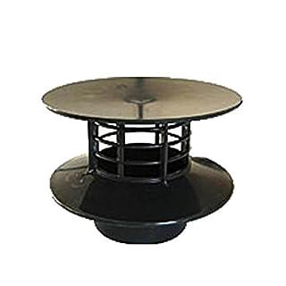 Wind fan static for septic tank or micro station (Color: Grey,Brand: ADEQUA URALITA)