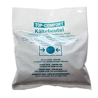 10 x Kältebeutel 17 x 15 cm TOP-COMFORT Sofort-Kälte Kühlpad Kühlkompresse
