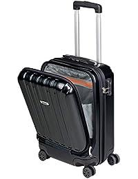 Valise Cabine avec Compartiment Ordinateur Portable Bagage à Main Trolley Rigide et Léger 4 roulettes Doubles pivotantes à 360º Serrure TSA Sulema