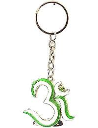 OM Metal Keychain Keyring Full Metallic KeyChain-GREEN
