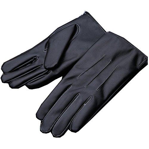 lters schwarze Handschuhe Winter Cute Car Ride mit Kaschmir warm,Schwarz,Einheitsgröße (Car-hop-mädchen)