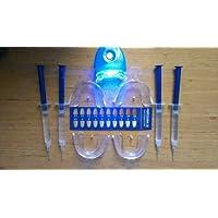 kit blanchiment des dents pour deux 4x3ml 2 apires de gouttieres + 1 lampe- Moins de 0.1% peroxy