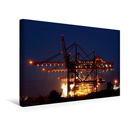 Calvendo Premium Textil-Leinwand 45 cm x 30 cm Quer, Arbeiten, rund um die Uhr. | Wandbild, Bild auf Keilrahmen, Fertigbild auf Echter Leinwand, Leinwanddruck Mobilitaet Mobilitaet