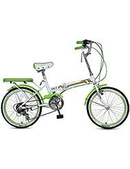 Paseo Bicicleta Plegable Bicicleta Unisex 16 Pulgadas Bicicleta Pequeña Rueda Bicicleta Portátil De 7 Velocidades (