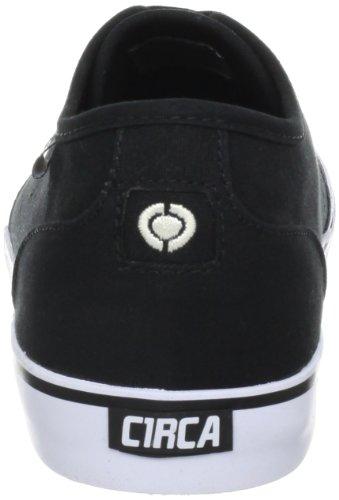 C1RCA  DRIFTER, Baskets mode pour homme Noir (black Canvas/white)