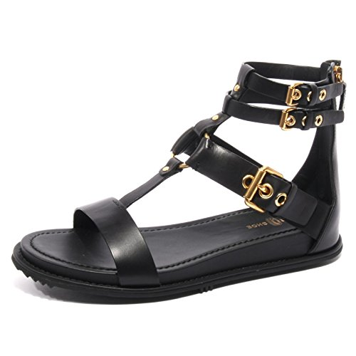 B2374 sandalo donna CAR SHOE scarpa nero flip flop shoe woman [38.5]