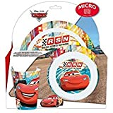 Set de plastico para microondas kids 3 piezas Cars Neon Racers (1/12)
