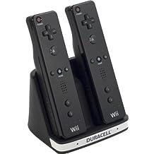 Vidis Duracell Dual Charger - cajas de video juegos y accesorios (Negro, Plata, Plástico, Con cables) Black,Silver