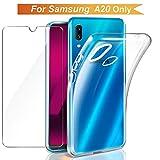 Galaxy A20 Case, Galaxy A20 Case Cover [ 2in1 Gel Case +