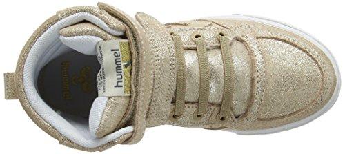High Gold Unisex Sstadil Magic Hi Jr golden Sneaker top Iii kinder Hummel paqO0w