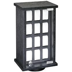 Eichmüller Uhrenvitrine für 24 Uhren - drehbar - schwarz^