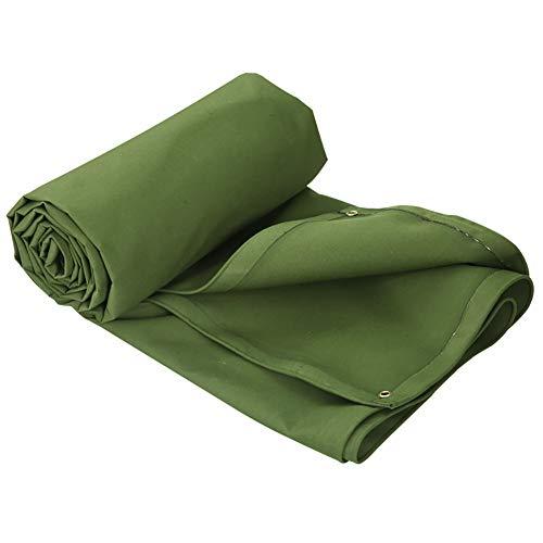 Telone tela cerata telo impermeabile in silicone su due lati telo impermeabile telo per esterno telo per camion copertura spessa per camion (verde) (dimensioni : 3m×2m)