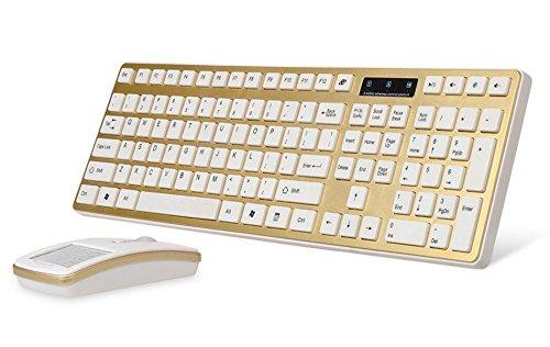 Office-Wireless-Gaming-Tastatur Und-Maus-Set Stumme Handschrift Maus Stromsparultradünnen Flat-Panel (Fern-panel)