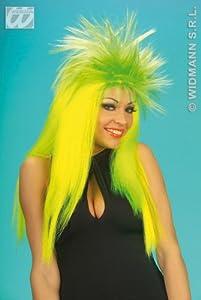 widmann-wdm6350K disfraz Adulto mujer, Verde Naranja Rosa, wdm6350K