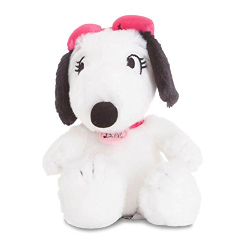 (Peanuts 7.5-inch Belle Plush - Snoopy's Sister by Snoopy)