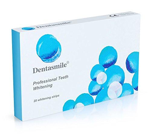 Dentasmile - Whitening Strips || Professionelles Zahnbleaching für weißere Zähne ||