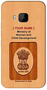"Aakrti Mobile Back cover with your Dept: Ministry of Women and Child Development.Express your ID in Your Way With "" Your Name "" Printed on your Smart Phone : Samsung Galaxy A-7 ( 2016 )"