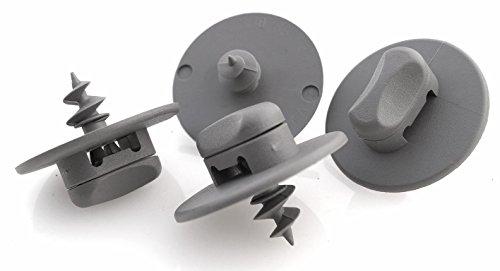 kh Teile Fußmatten Drehknebel Clip Befestigung Halter oval grau