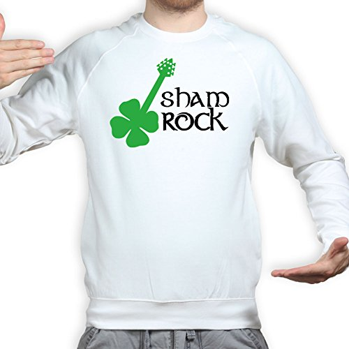 Sham Rock Music Irish Band St Patrick's Clover Pullover Shams Rock