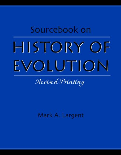 Sourcebook on History of Evolution