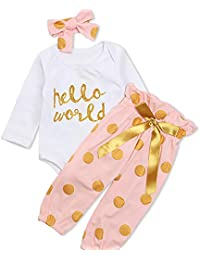 bd10d474c9 Amazon.co.uk  18-24 Months - Outfits   Clothing Sets   Baby Girls 0 ...