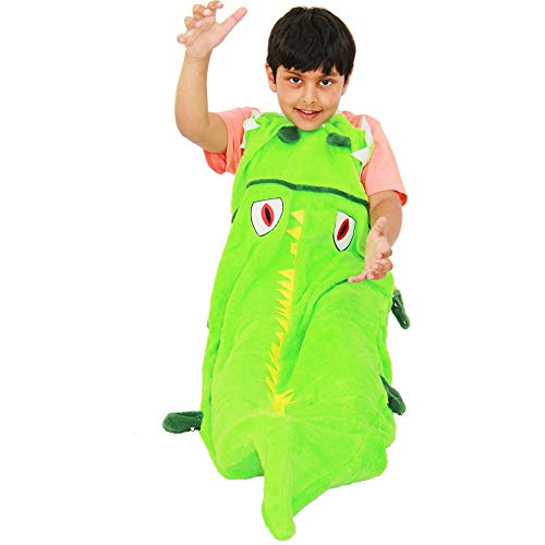 A2Z 4 Kids® Kinder Decke Schicke Kleider - Blanket. Crocodile One Size (Krokodil Kostüm Für Erwachsene)