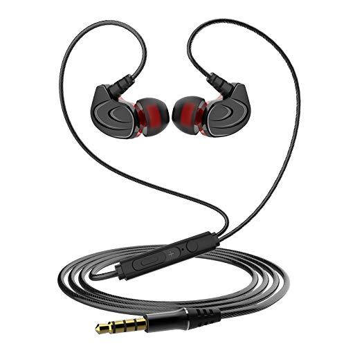 TSQTZHW Tragbare Sportkopfhörer, In-Ear, hohe Qualität, guter Klang, geeignet für alle Arten von Mobiltelefonen,Geeignet für iPhone, Android-Smartphones und MP3-Player usw.