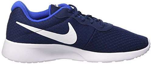 Nike Tanjun, Chaussures de Running Homme Bleu (Midnight Navy Blau/weiß/game Royal Blau)