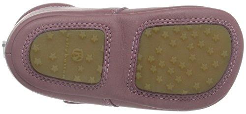 Bellybutton Krabbelschuh, Chaussons pour enfant bébé fille Rose - Pink (Rosa)