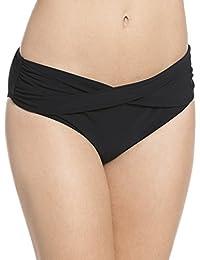 Rose faia 8707–0 liz pour femme slip slip de bikini bottom uni taille 42 (hibiscus