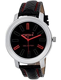 DCH Stylish Analog Black Dial Watch For Men And Boys