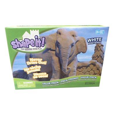 Moonsand Spielsand Vorteilspackung 2270 Gramm weiß